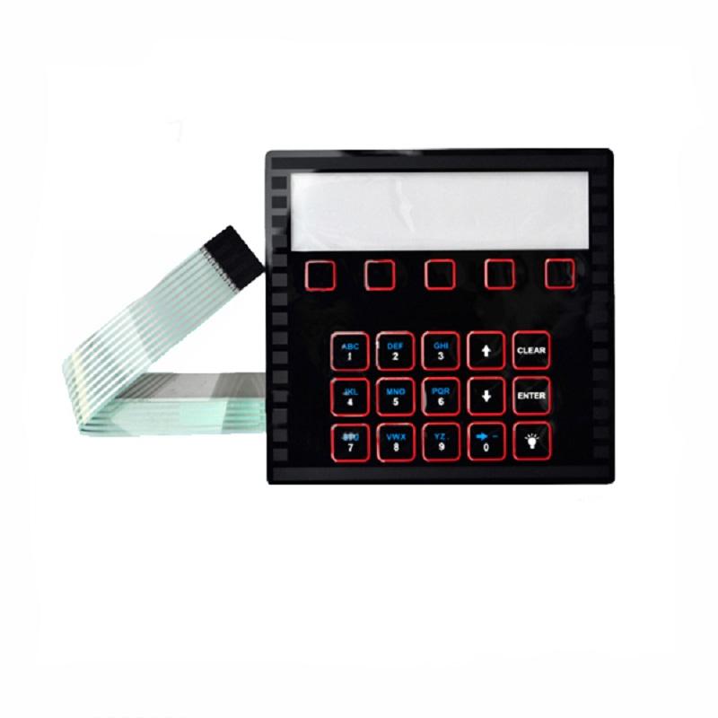 China OEM/ODM membrane switch with led backlight/ Membrane Switch keypad
