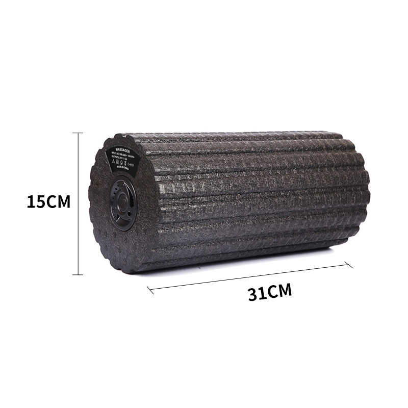 Multi function Electric Vibrating Foam Roller Yoga 5 Speed Massage Roller