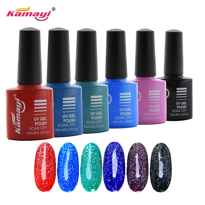 Kamayi wholesale 8ml water base non-toxic odourless organic environmental healthy material neon gel uv gel polish for nails
