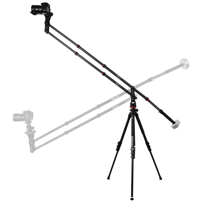 KINGJOY VM-301C New Professional MiniJib Crane for Camera DSLR