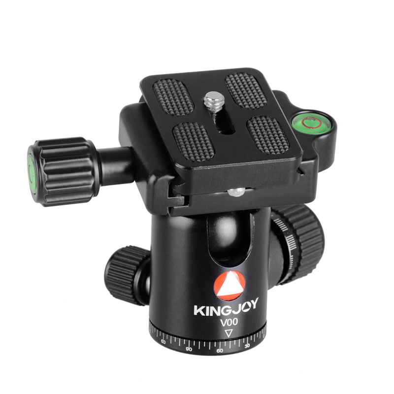 KINGJOY CNC machining panoramic camera tripod ball head for camera