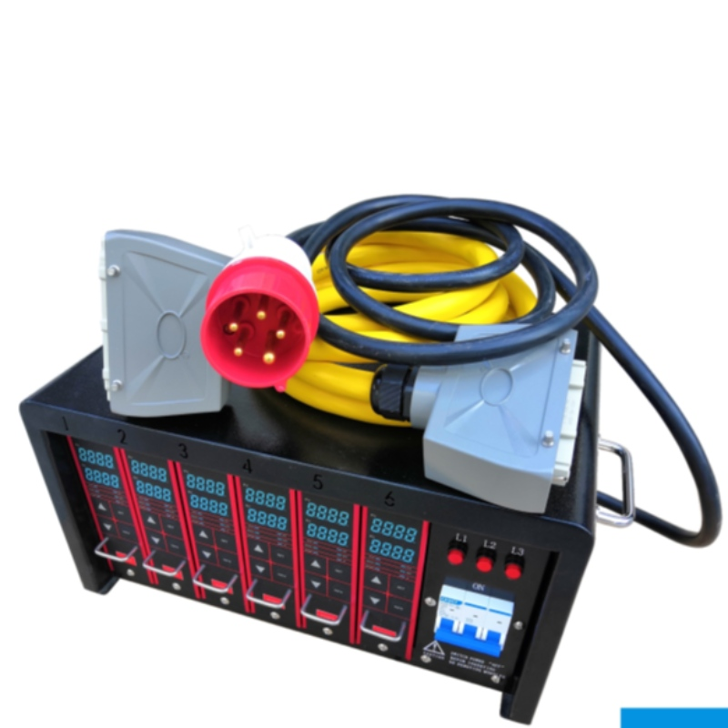 Hot runner temperature control box