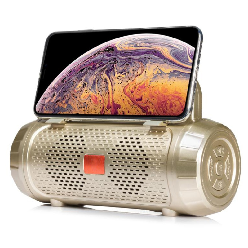 YG-BSQ17 Bluetooth Speaker with LED Torch