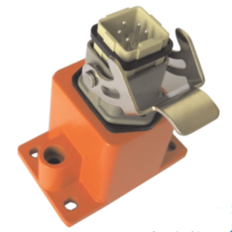 5-pin junction box + common plug + base + orange