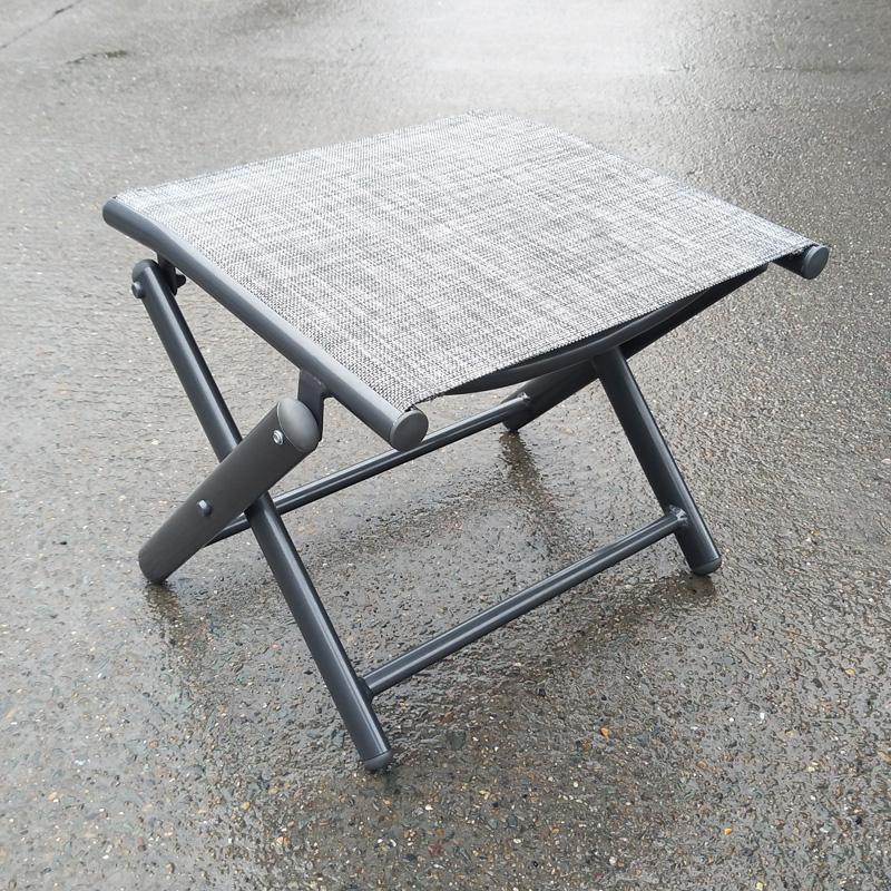 Alum & textilene stool