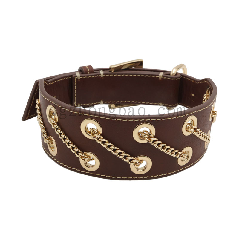 Corns are selling pet leather collars