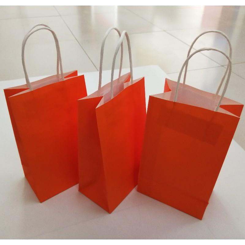 Cowhide Paper Package Bag Kraft Paper Food Packaging Bag For Food