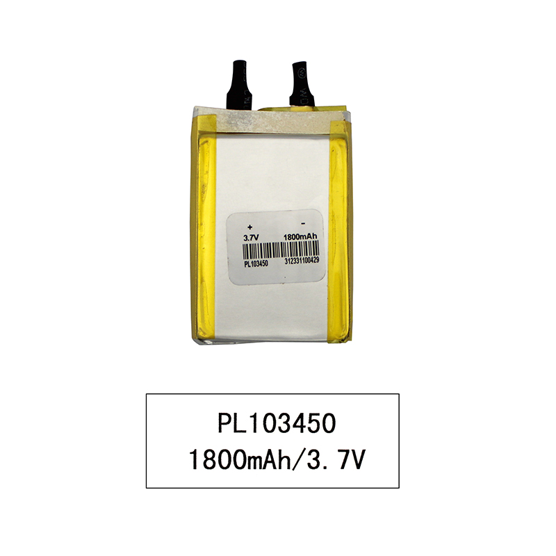 UL Approved Rechargeable Lipo 3.7v 1800mAh Polymer Lithium Ion Battery for Digital Device