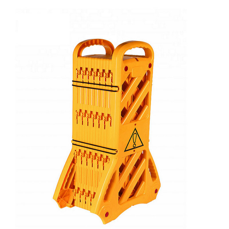 Plastic Crowd Control Expandable Barricade Traffic Car Parking Safety Barrier