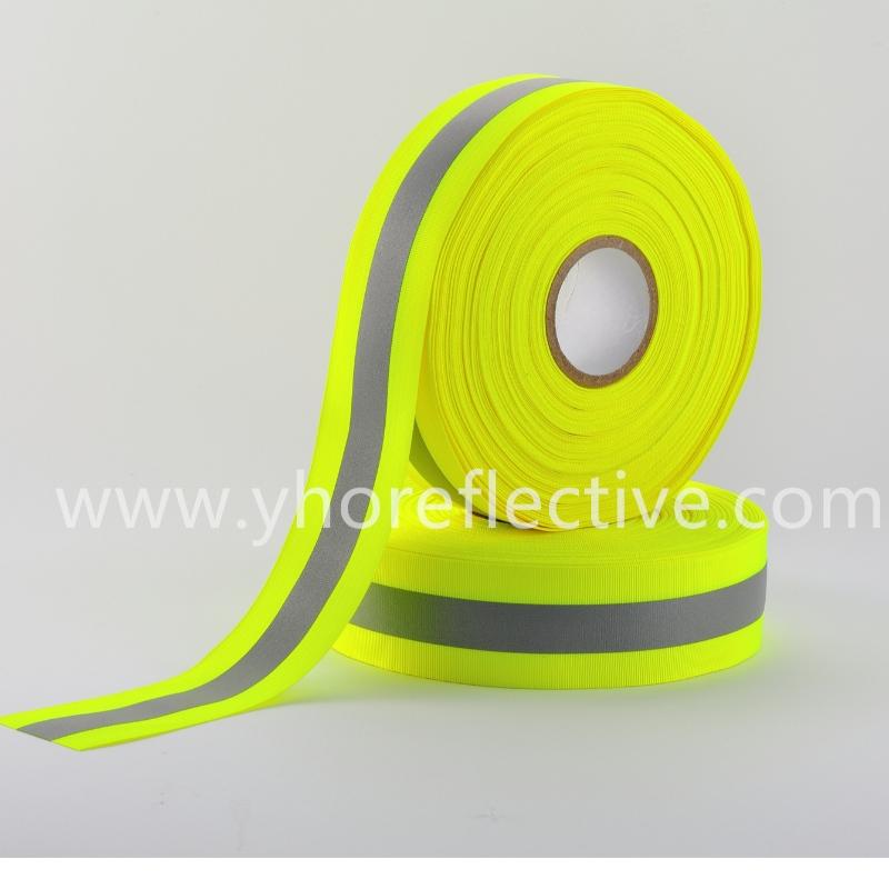 Y-8001S / Y-8001H Reflective Webbing tape