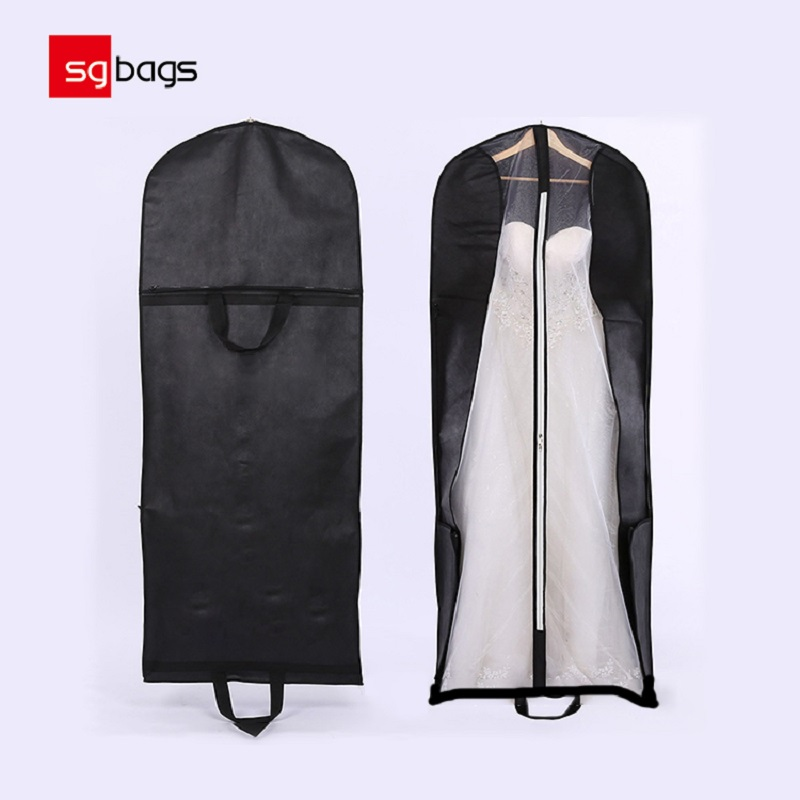 Wholesale Customized Bridal Gown Dust Bag Wedding Gown Garment Bag
