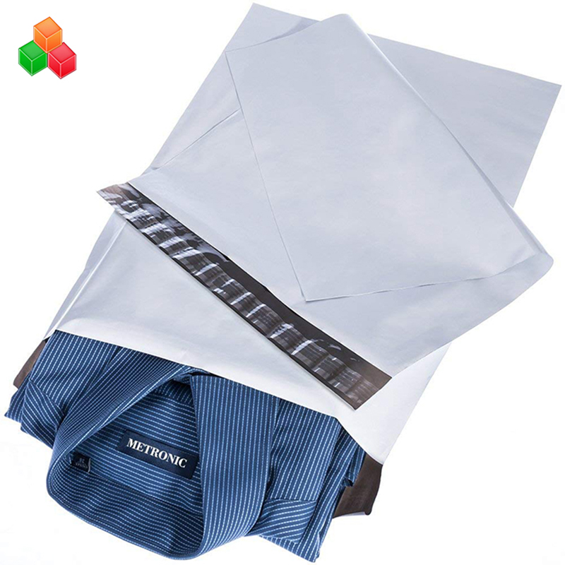 custom LDPE co-extrusion courier plastic express postal bag shipping mailing envelope poly mailer bag