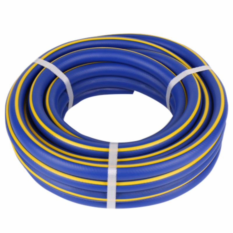 3-Layer braided colorful With yellow line Superflex PVC water Hose