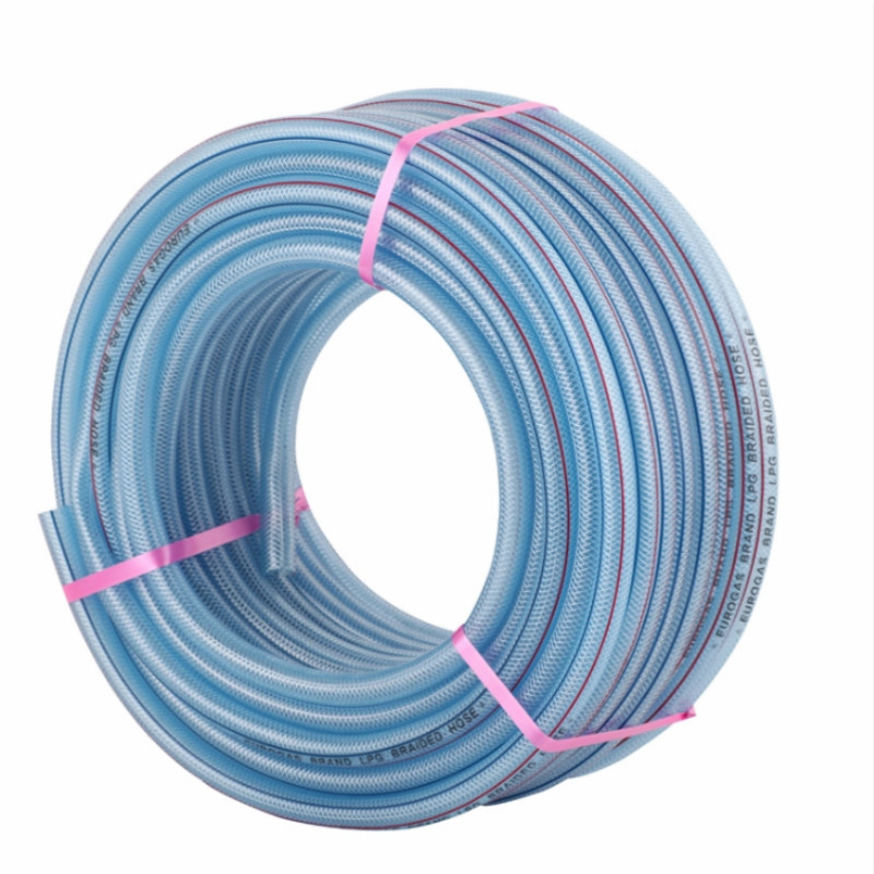 Water pipe Plastic flexible reinforced braid pipe PVC garden water hose
