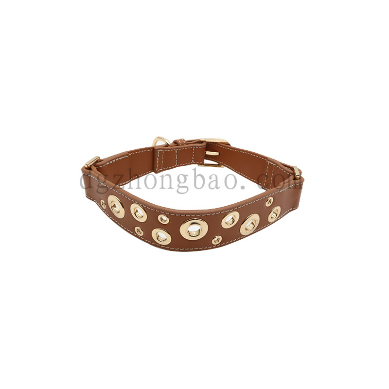 Hardware corns fashion dog collars