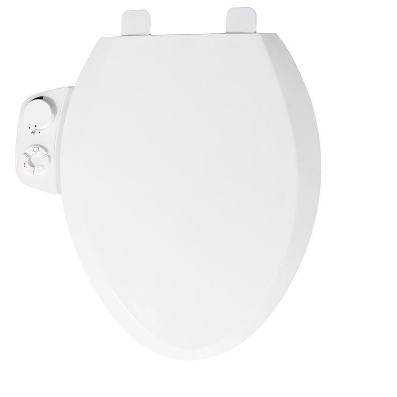 Elongated non electric Bidet toilet seat