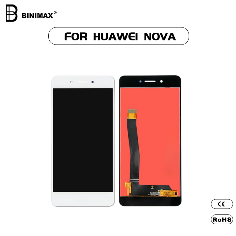 Mobile Phone LCDs screen Binimax replaceable display for HW nova