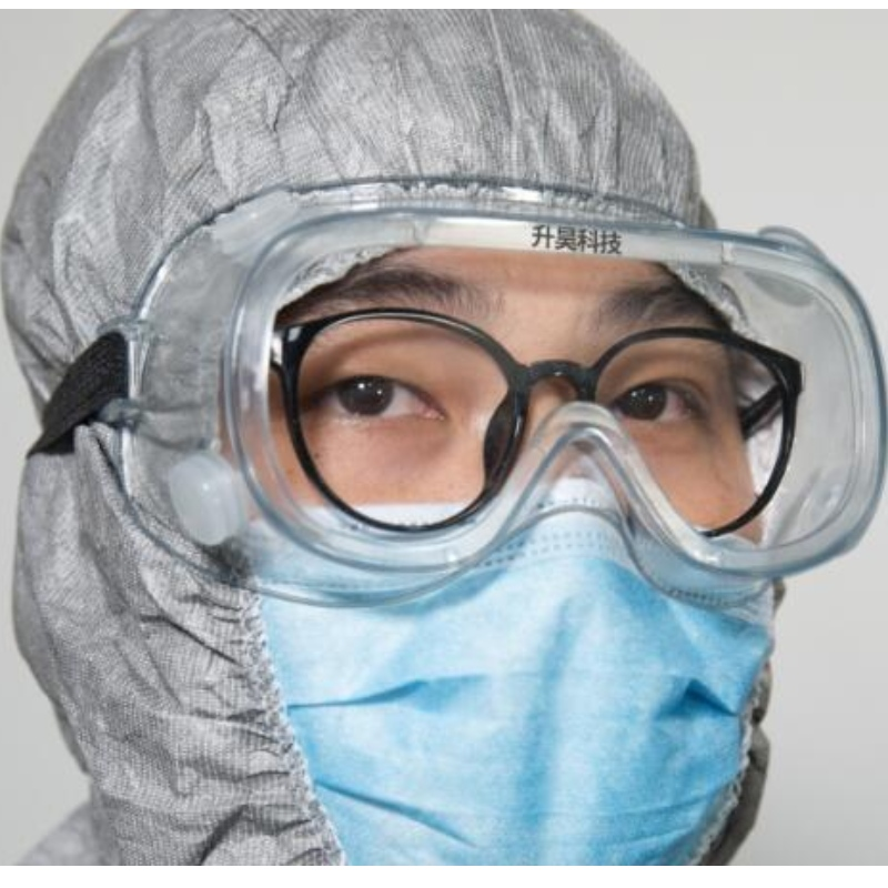 indirect vented isolation goggles