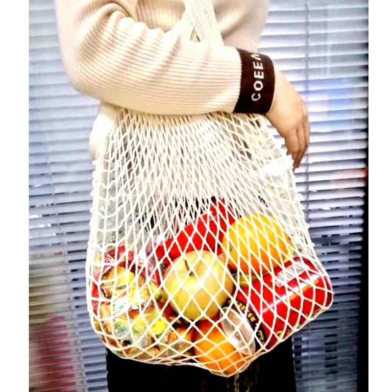 Eco-friendly cotton mesh bag