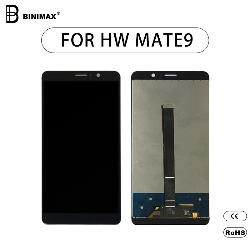 good quality mobile phone LCDs screen BINIMAX replaceable display for HW mate 9