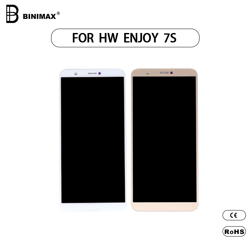 Mobile Phone TFT LCD screen BINIMAX replaceable display for Huawei enjoy 7S