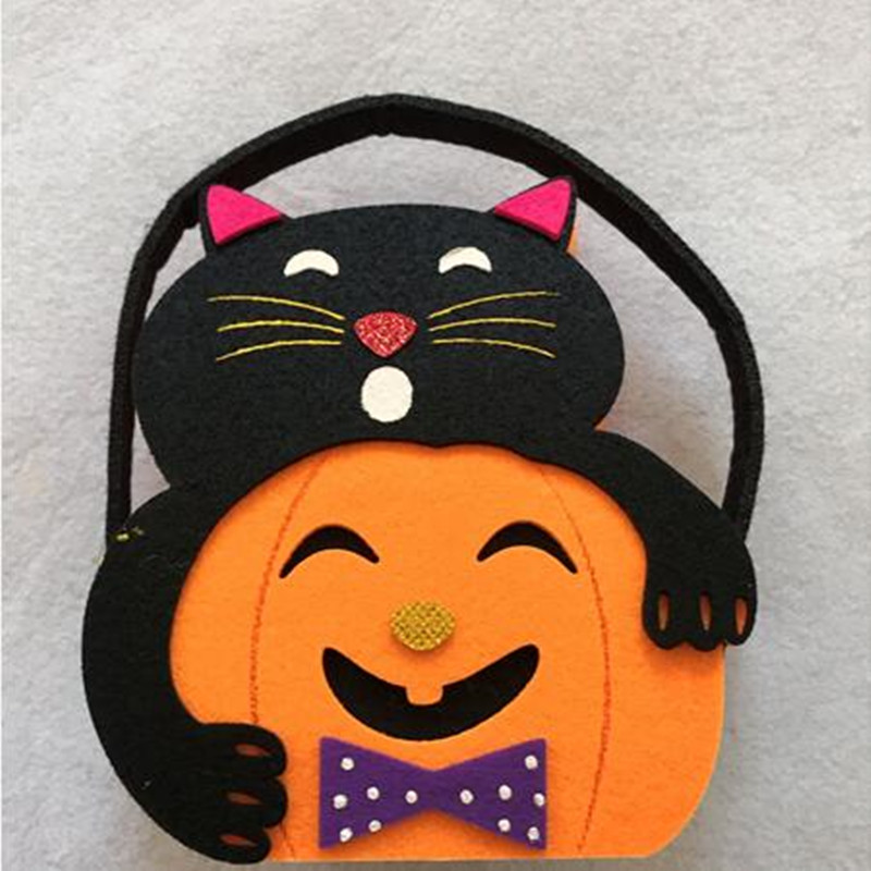 New Style Felt  Easter Pumpkin Basket