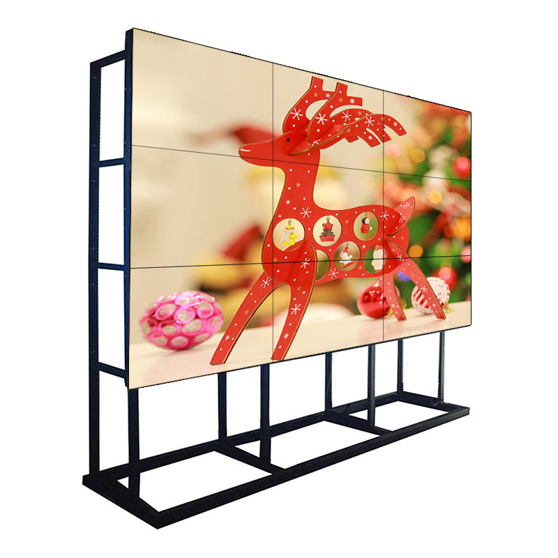 55inch 1.7 mm bezel 500 NIT Samsung LCD Video Walls Monitor Display for Command Center,Shopping Mall and Chain Store