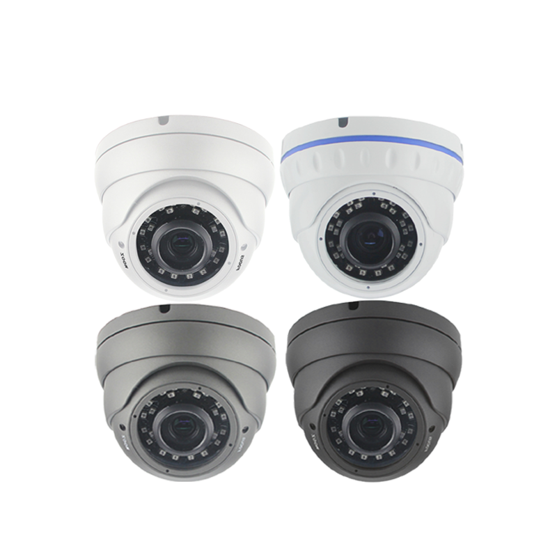 5MP XMeye IMX335+Hi3516EV300 2.8-12mm Vari-focal lens 30m IR Range Dome IP Camera