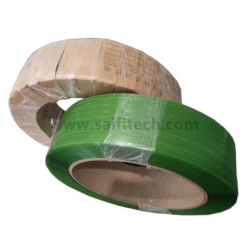 Green PET Polyester Strapping Band