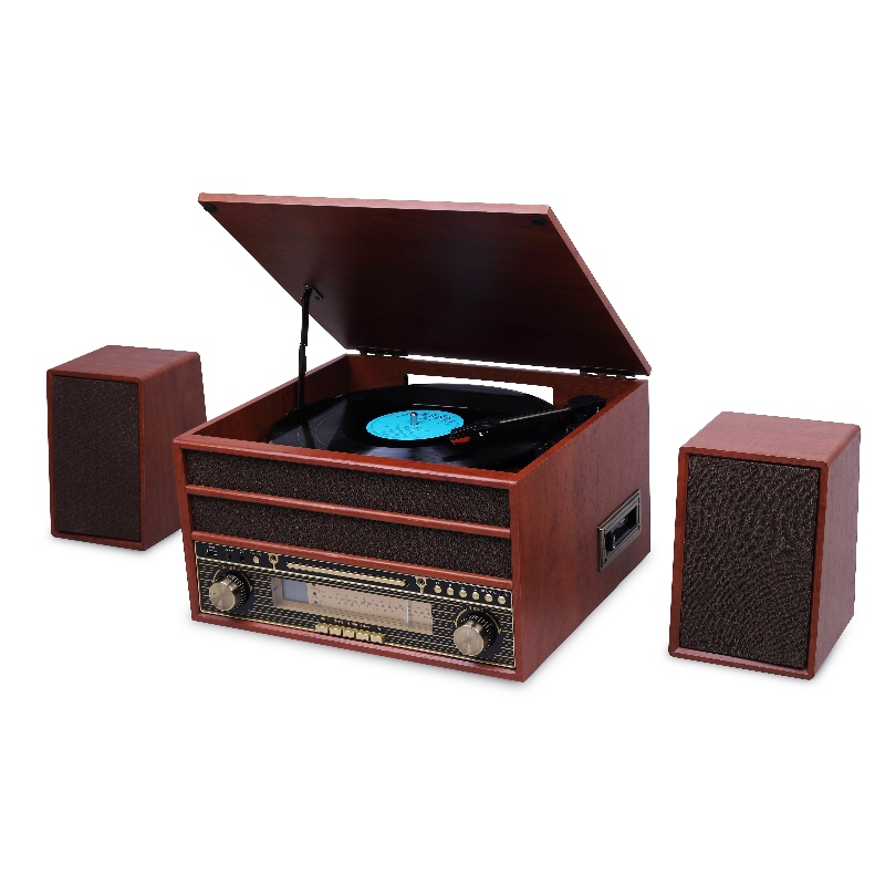 YG-TT081SK Nostalgia Bluetooth Turntable Player