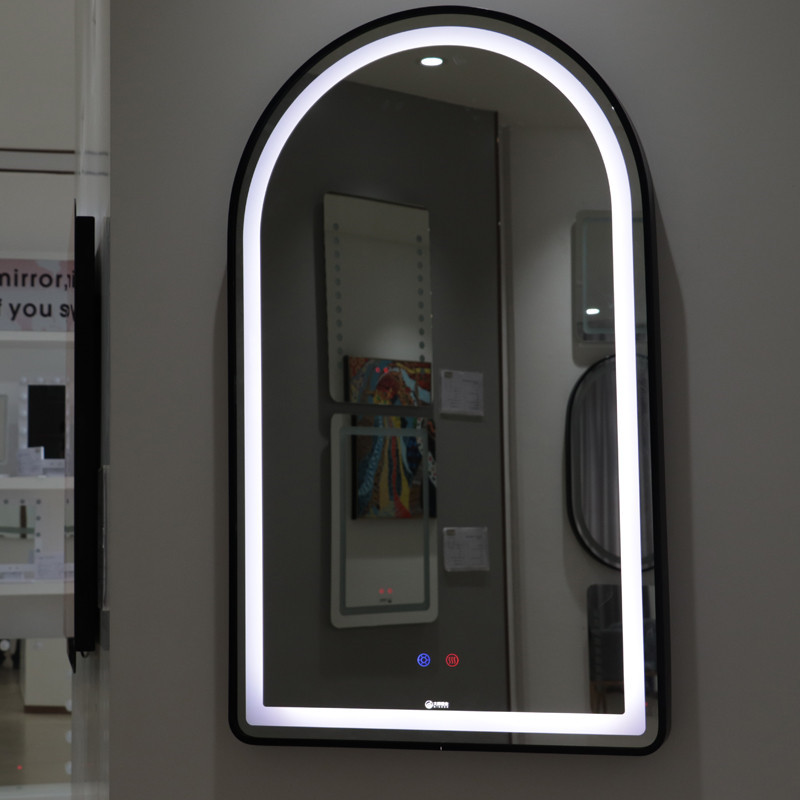 Illuminated Feature and LED Lighted Mirror Barber Shop Mirrors