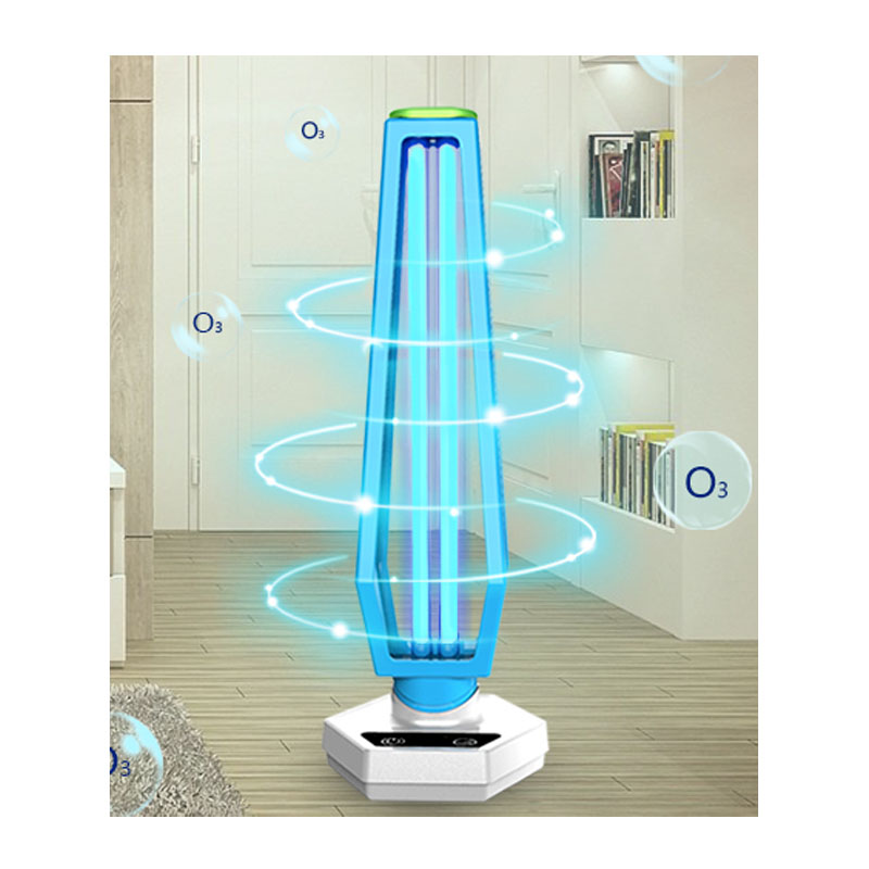 2020 UV Disinfection Blue White anti coronavirus Lamp