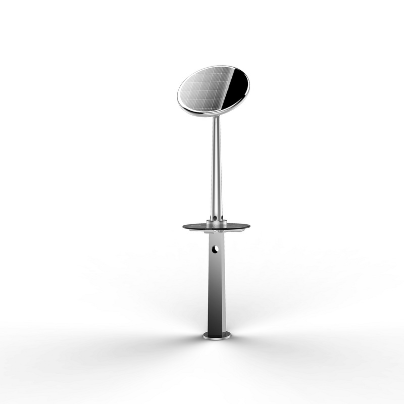 Popular Smart Solar Powered Outdoor Street Furniture For Mobile Phone Charging