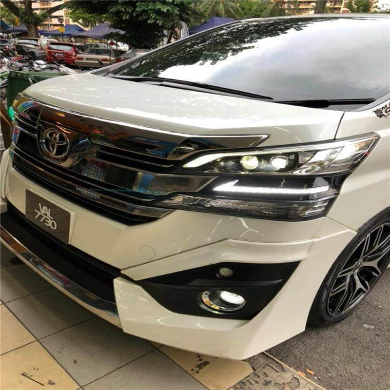 Daytime running light for Toyota Vellfire 2015~2016,Foglamp for Toyota Vellfire 2015~2016 DRL