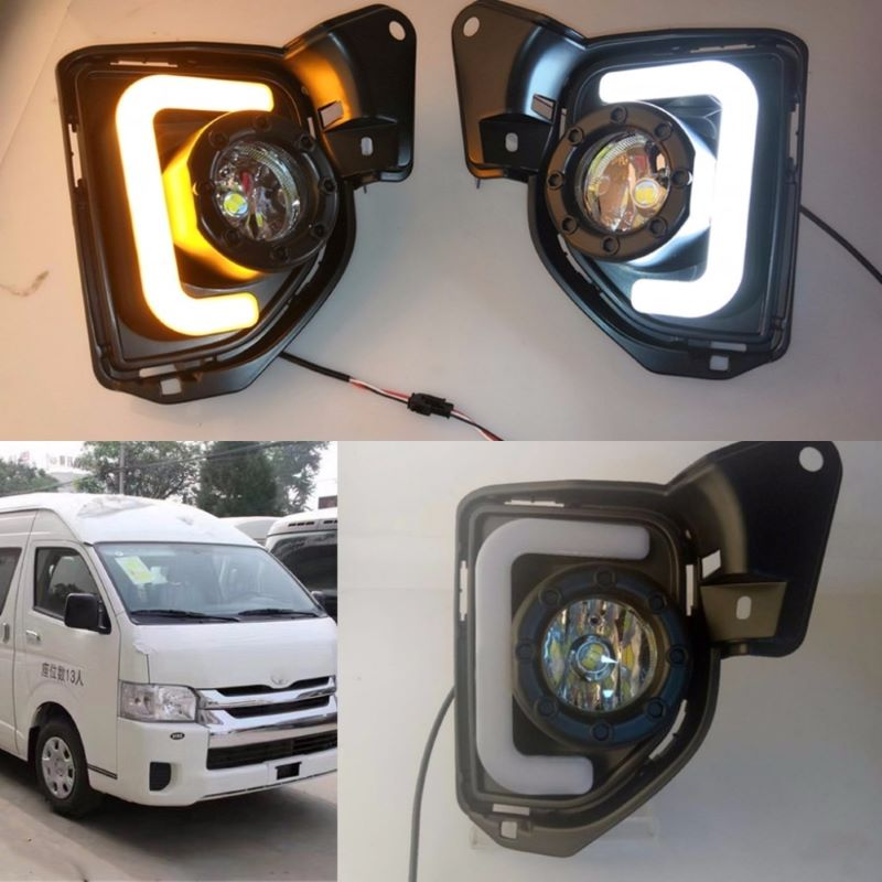 Foglamp for Toyota Hiace 2014~2016,Daytime running light for Toyota Hiace 2014~2016 DRL