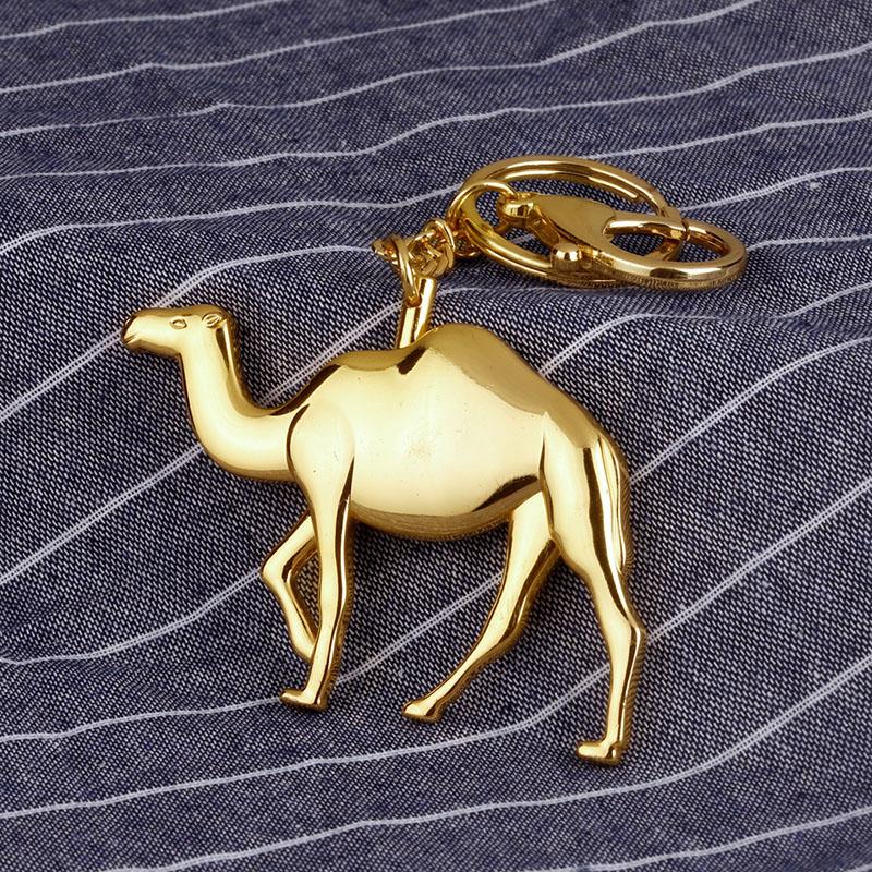 Metal Camel Keychain