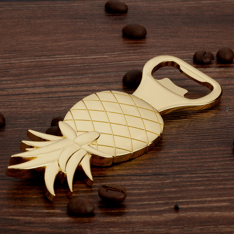 Zinc Alloy Ananas Shaped Beer Bottle Opener