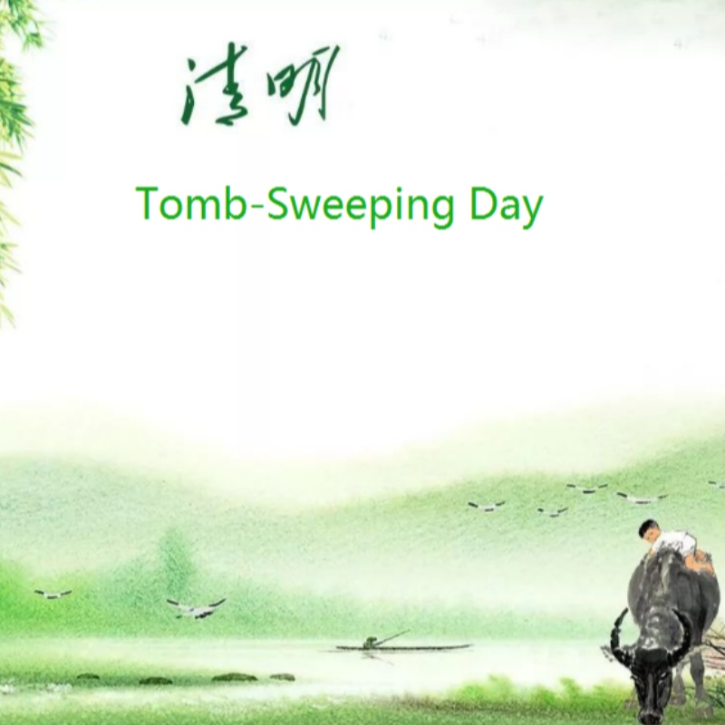 China Tomb-Sweeping Day Holiday Notice on April 2, 2020