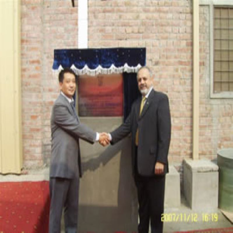 Mr. Shan xiaowu attended the opening ceremony of the factory