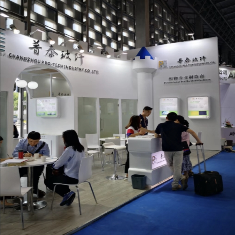 From September 5 to 7, 2018, the company participated in the 24th China international composite materials industrial technology exhibition