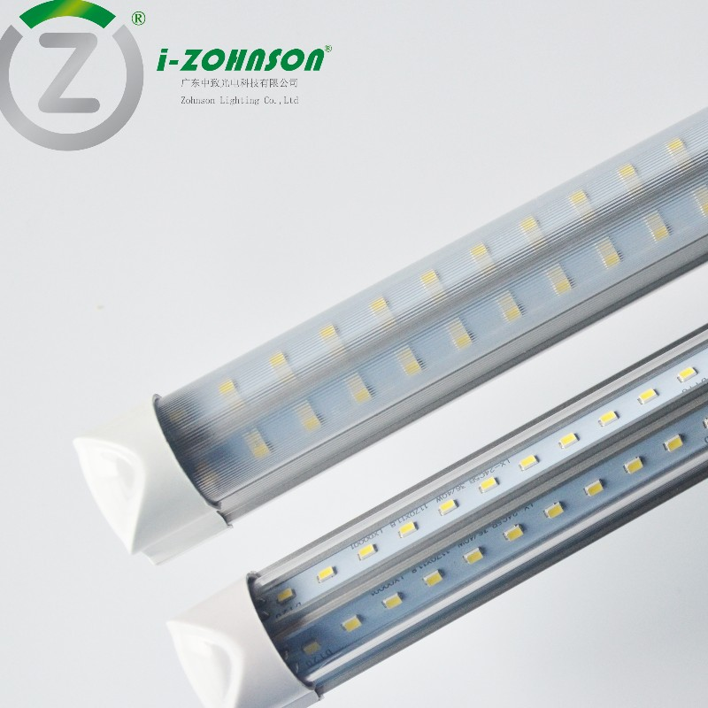 V-shape Integrated Fixture LED tubes
