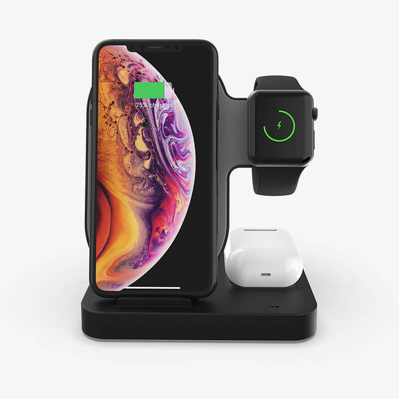 3 In 1 Dual Wireless Charger Stand