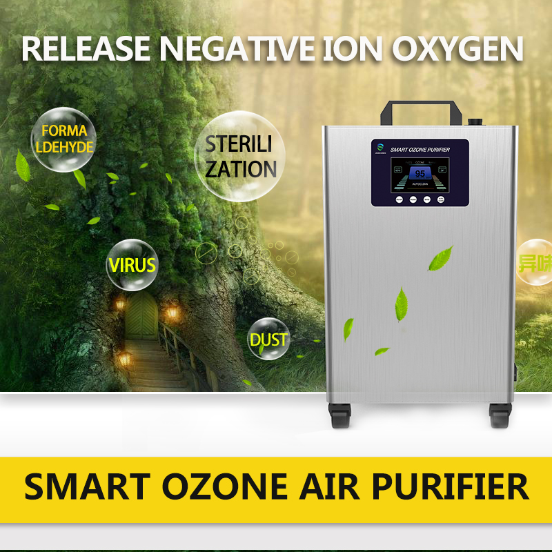 Smart ozone air purifier