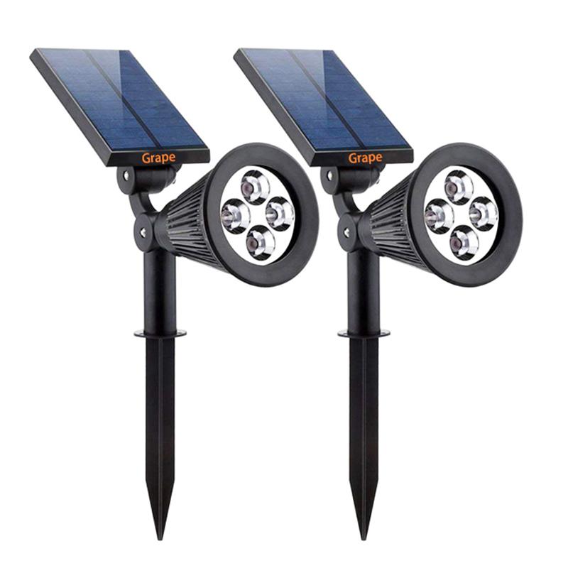 V6 Solar Lawn light