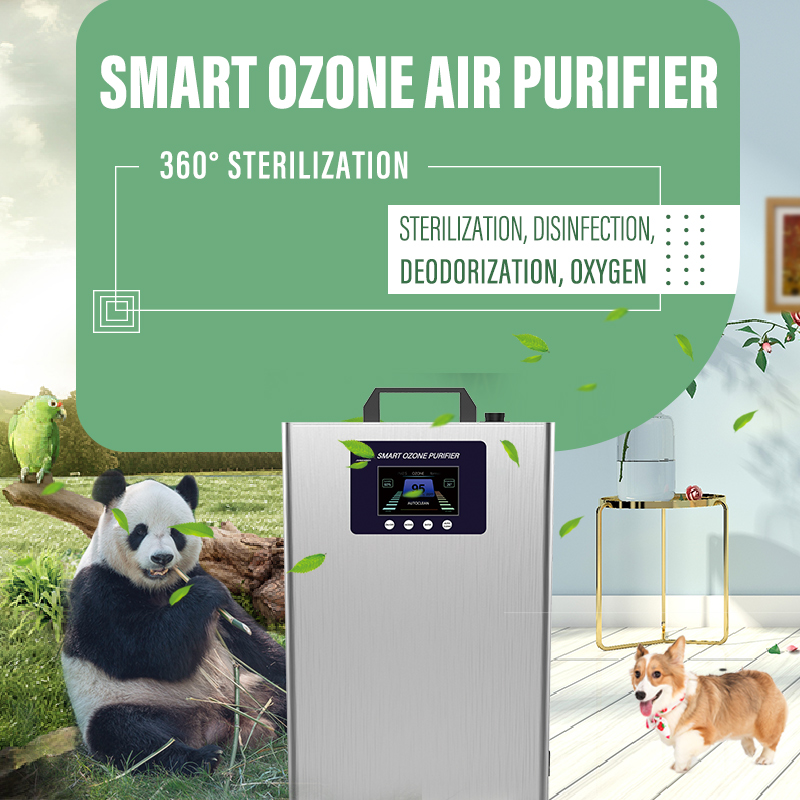 Smart ozone air purifier,New mode of sterilization