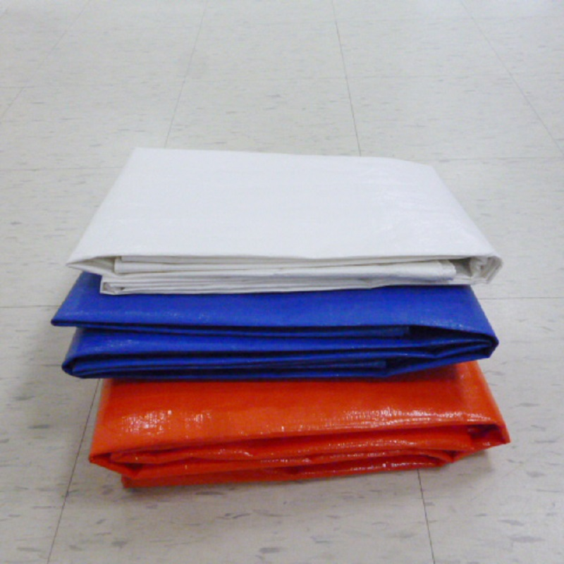 Waterproof Fireproof Virgin PE Coated Fabric Laminated Plastic Tarpaulin Fabric Sheet
