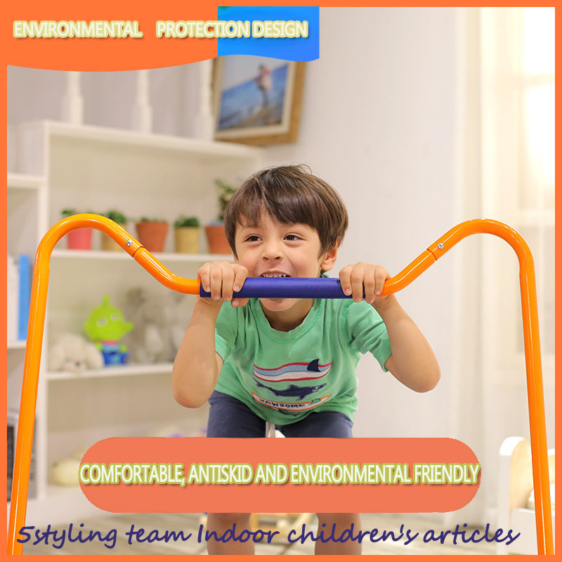 American children's trampoline, trampoline, indoor household small children's bouncing, rubbing against the bed, fitness and weight loss toys