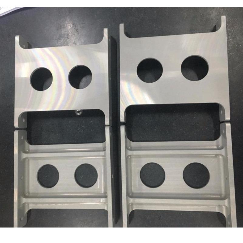 CNC milling, base par Anodize MIL-A-8625F TYPE I CLASS 1