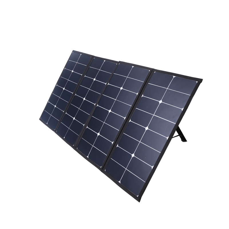100w foldable solar panel for camping charger solar blanket