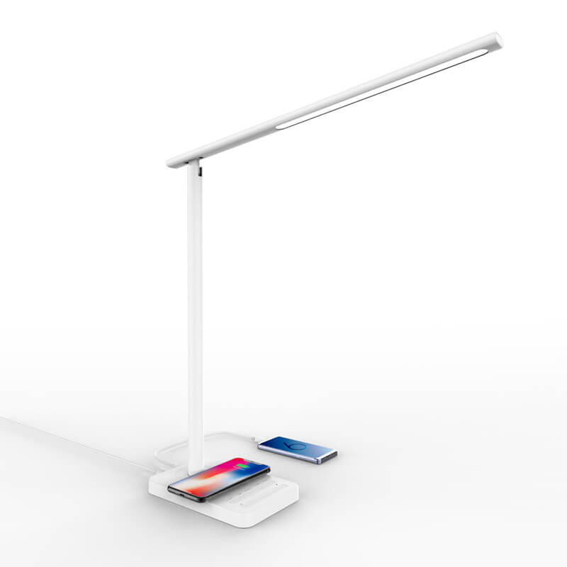 LED Desk Lamp Fast Wireless Charger